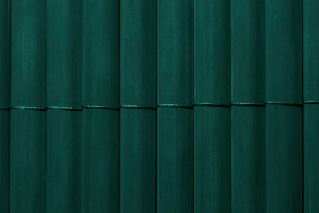 Double-sided PVC slat privacy fencing